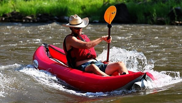 Tomcat Tandem inflatable kayak