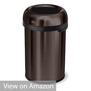 Simplehuman 60 Liter Open Top Trash Can