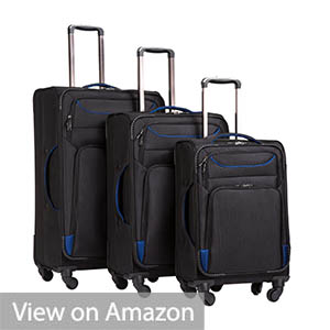 Coolife Luggage 3 Piece Spinner Set