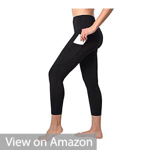 90 Degree By Reflex Yoga Hidden Pocket Capris