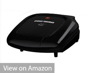George Foreman GR0040B 2-Serving Plate Grill