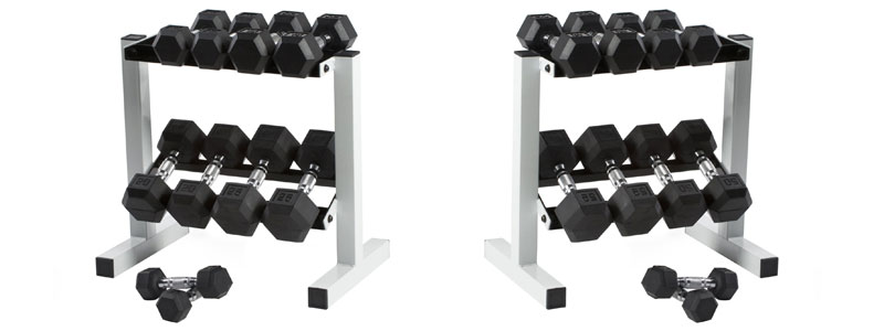 Cap-Barbell-Rubber-Hex-Dumbbell-Set-150-Pound