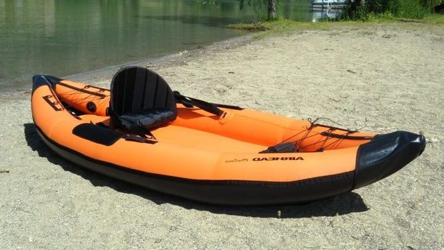 Storage Capacity of the Airhead Montana Inflatable Kayak