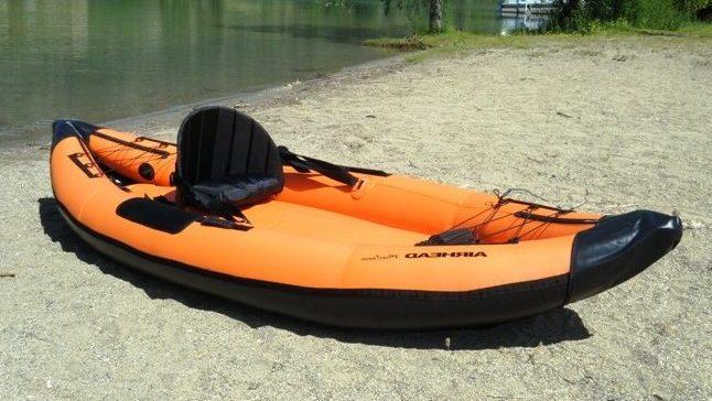 Storage Capacity of the Airhead Montana Inflatable Kayak