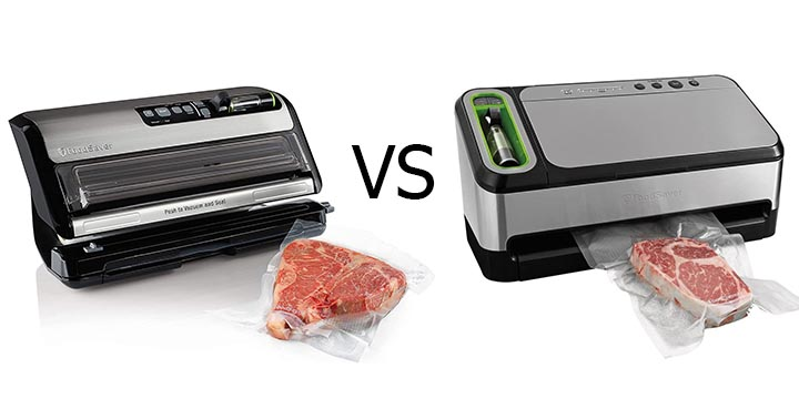 Foodsaver fm5200 vs FoodSaver V4840
