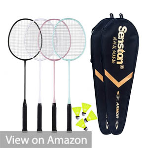 Senston Badminton Racquets 4 Pack