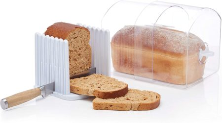 KitchenCraft Bread Slicer and Bread Keeper