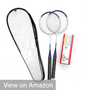 Trained Premium Quality Set of Badminton Racquets