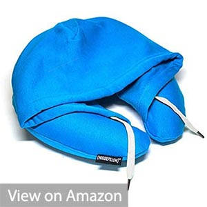 HoodiePillow Brand Travel Hoodie Pillow