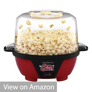 West Bend 82505 Stir Crazy Popcorn Popper