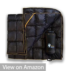 PUFFER WOLF | Extra Large Double Insulated Outdoor Camping Blanket