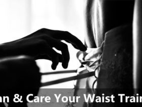 clean your waist trainer