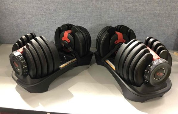 Bowflex SelectTech 552 Adjustable Dumbbells.