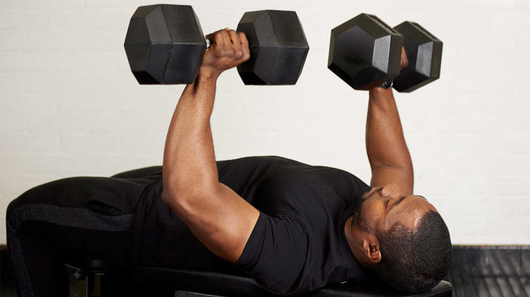 Home Dumbbell Workout Exercise Program