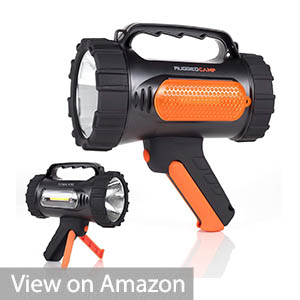 Rugged Camp Titan X10 Rechargeable Spotlight