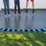 set up a trampoline