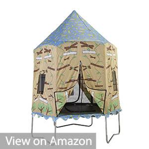 JumpKing 10ft Tree House Print Trampoline Tent