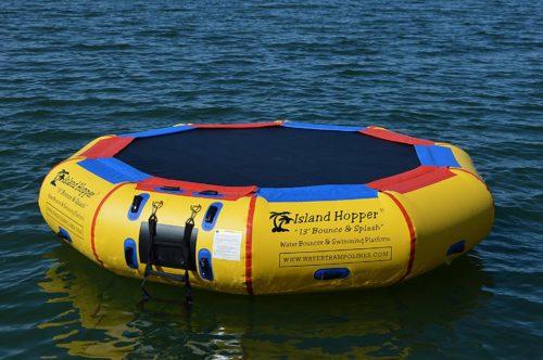 Island Hopper Water Bouncer