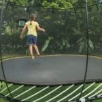 Springfree Trampoline 8' x 13' Large Oval Trampoline with Enclosure