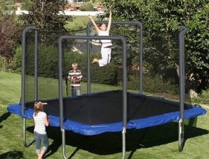 Skywalker Trampolines 13' Square Tramploine for Kids and Adults