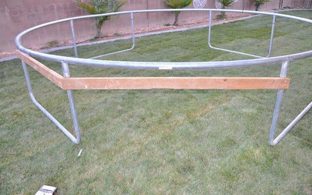 inground trampoline instructions