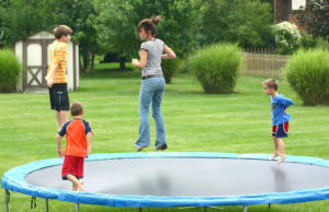 buy a trampoline for your kids