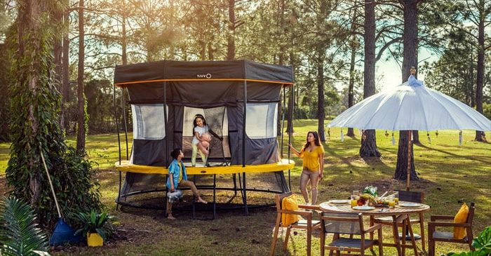 What Features Should I Look for in a Trampoline Tent?