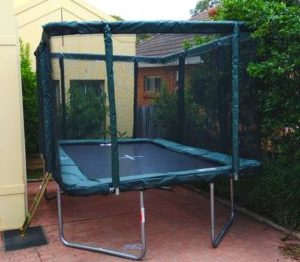 Rectangle trampoline-for-small-spaces