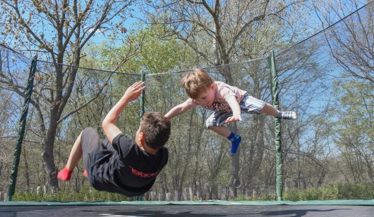 trampoline- game Musical Bounce