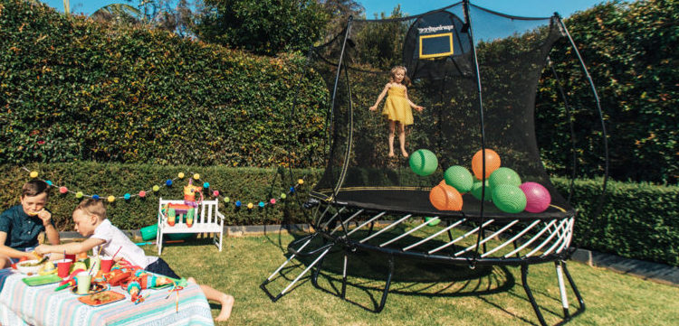 Benefits of Using Family Trampoline