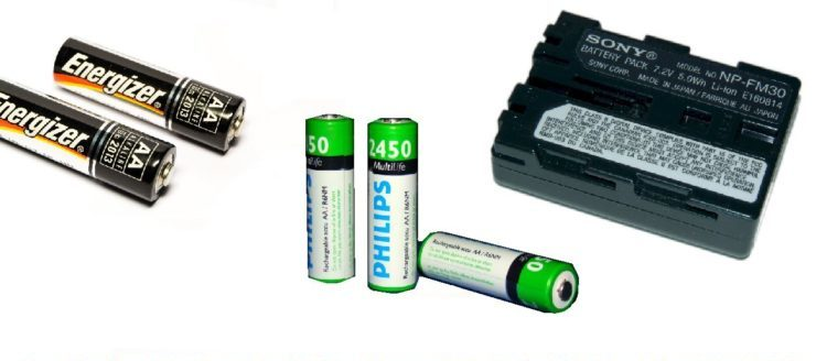 Lithium VS Alkaline VS Rechargeable Batteries