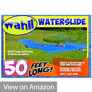 Wahii Waterslide 50 – World's Biggest Backyard Lawn Water Slide!