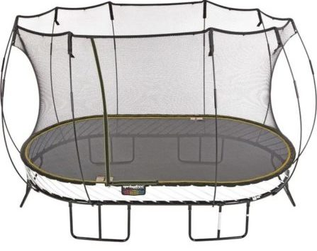 Springfree Trampoline Large Oval with Basketball Hoop & Ladder