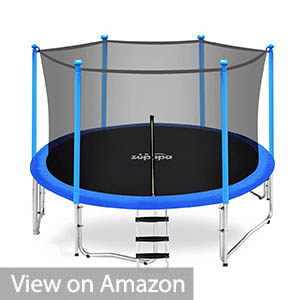 Zupapa 10 Ft TUV Approved Trampoline