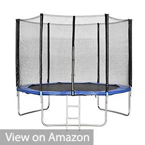 Homgrace 10 foot UV Proof Coating Trampoline