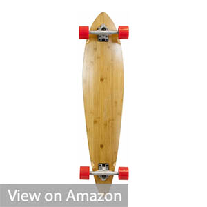 SCSK8 Natural Blank & Stained Longboard Skateboard