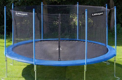 having a 14 trampoline