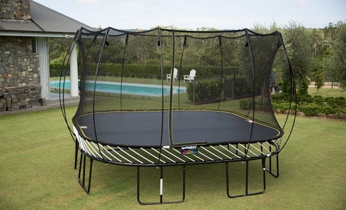 What is a Springfree trampoline