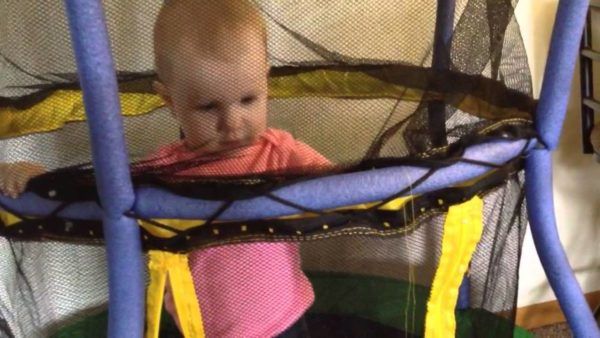 trampoline for baby