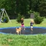 how to Put a Trampoline in the Ground
