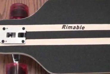 Rimable Drop Through Longboard (41-Inch)