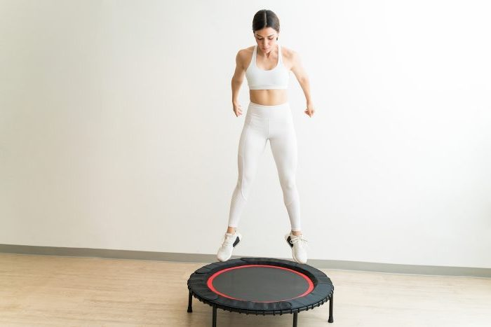 What Are the Benefits of Using a Fitness Trampoline?