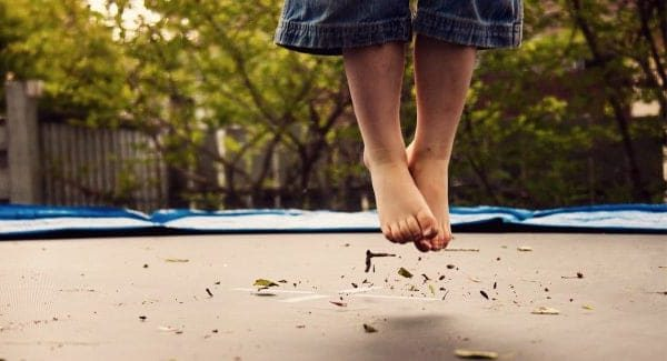 What to Do When Jumping on a Trampoline